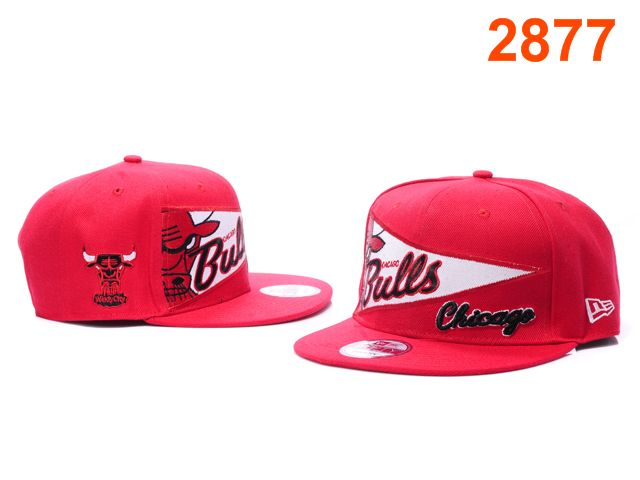 Chicago Bulls NBA Snapback Hat PT120